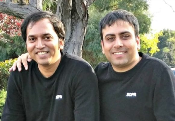 Supr Daily Co-founders Shreyas (L) and Puneet