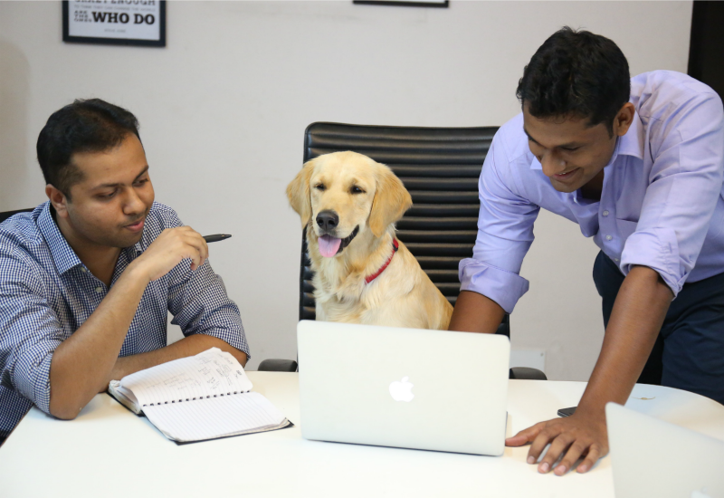 BYG Co-founders with Arya