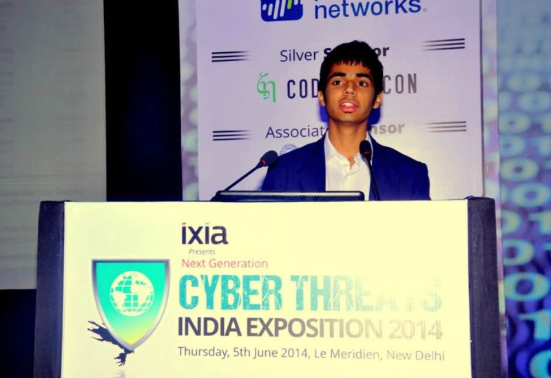 Trishneet Arora at Cyber Summit Delhi-