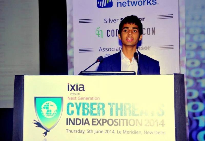 Trishneet Arora at Cyber Summit Delhi-
