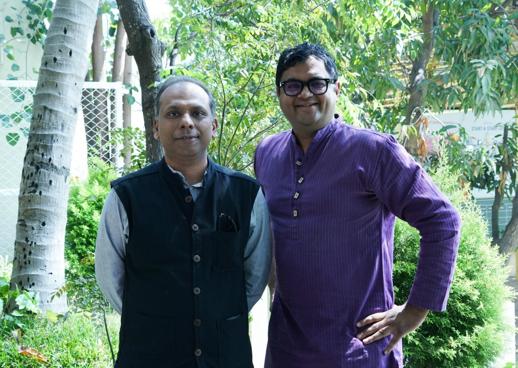 pi Ventures founding partners Manish Singhal (L) and Umakant_Soni