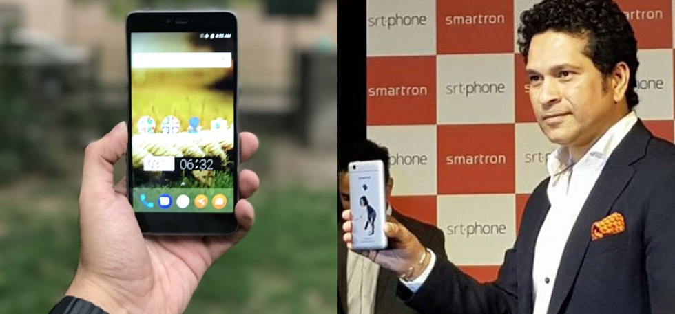 Smartron's smartphone launched in India-Sachin is the Brand Ambassador-Startagist