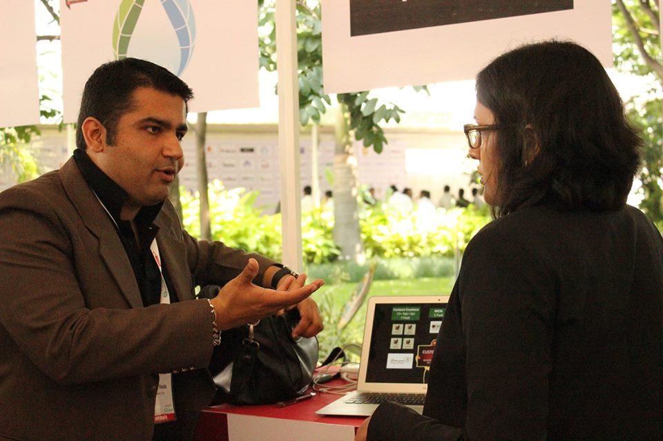 Vidooly Co-founder Nishant Radia (L)